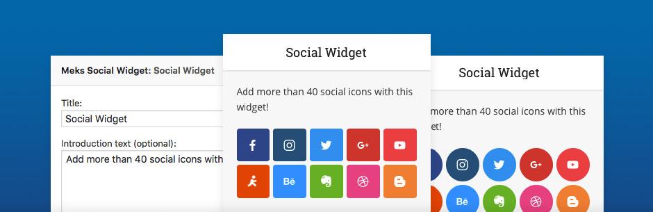 Beberapa Fungsi Social Widget Untuk WordPress